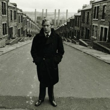 Michael Caine on Hugh Street
