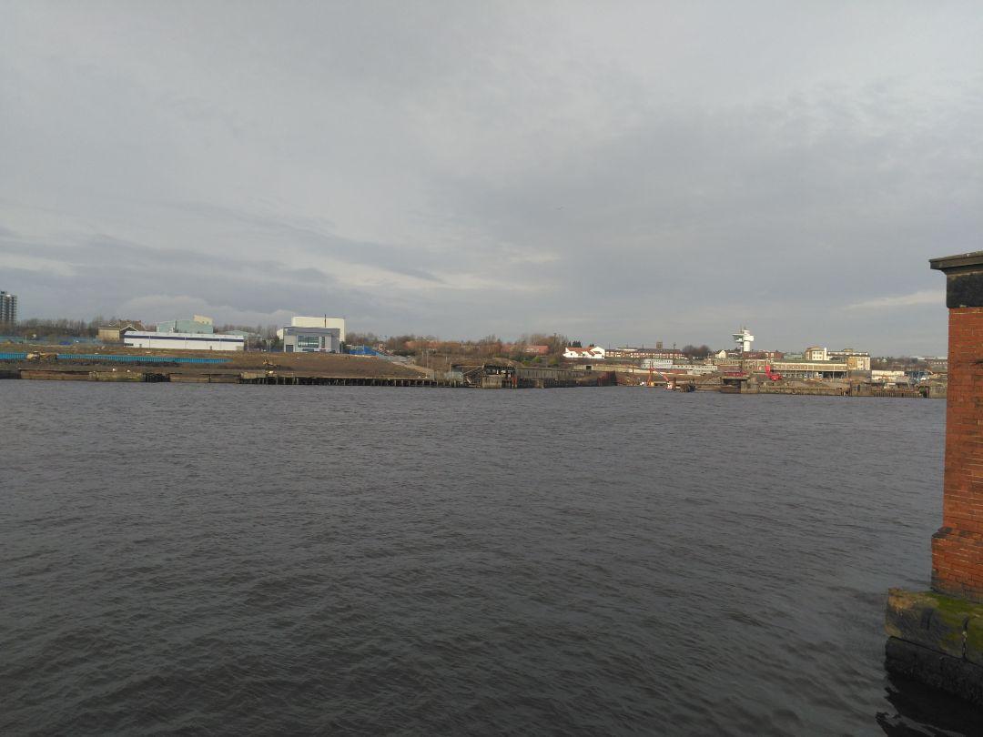 Lookig at Wallsend ferry landing