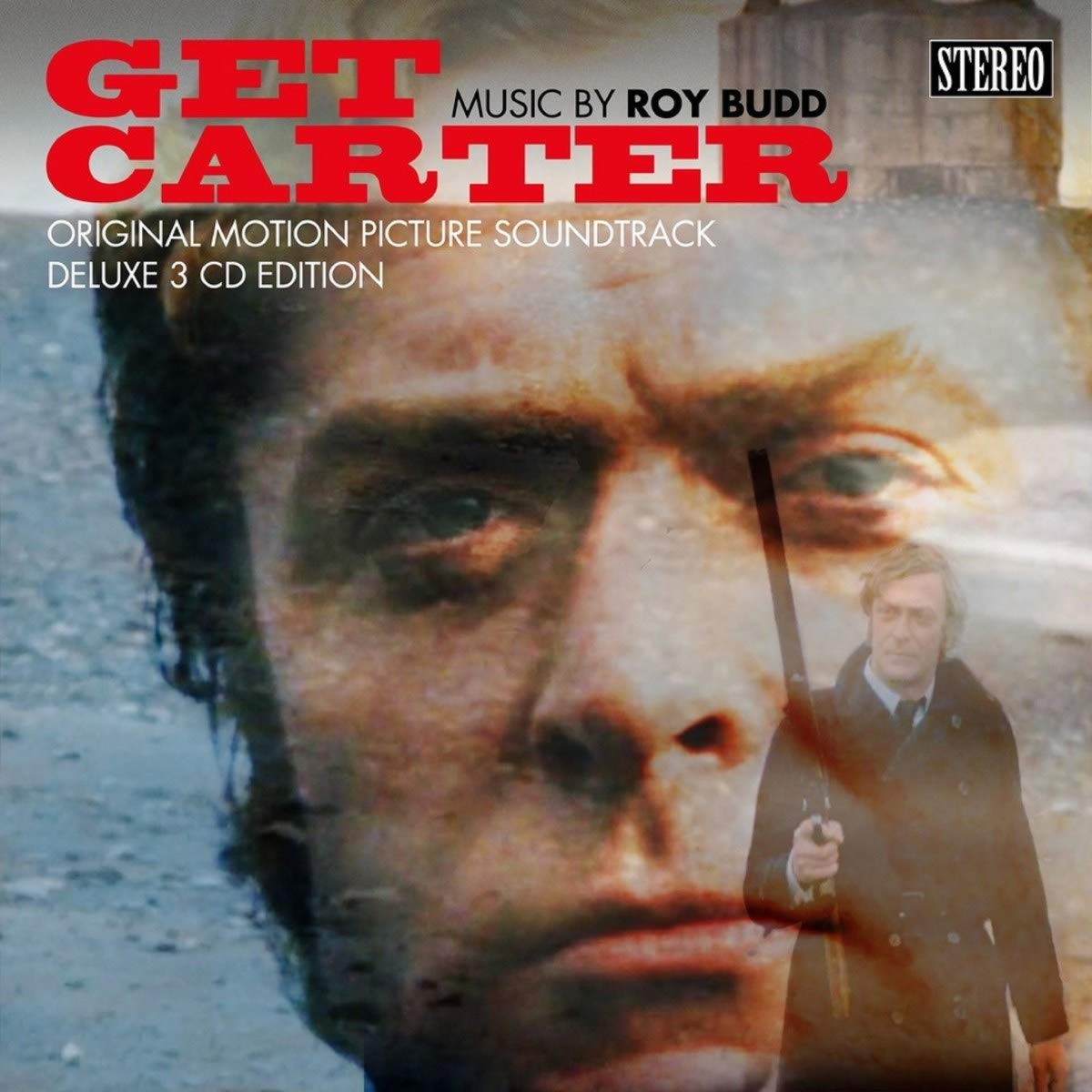 Get Carter OST 3CD Deluxe Cover